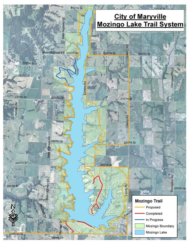 View Lake Trail Map
